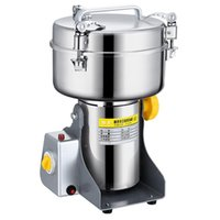 Molillas de café eléctricas 220V 2500 g Máquina de polvo Poladura Poladura Spice Trituradora Comercial Acero inoxidable Cobre Motor Grano