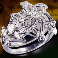 Original 925 Sterling Silver Galadriel Nenya 3ct Lab Diamond stone Engagement Wedding Ring For women Party Gift