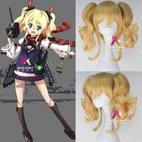 Savaş gemisi kız peruk firefly cosplay animasyon peruk parti cadılar bayramı