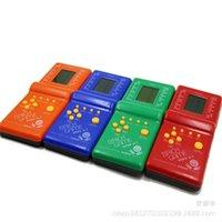 E9999 أربعة لون الكلاسيكية تتريس المحمولة وحدة الحنين لعبة الطفولة التعليمية لعبة