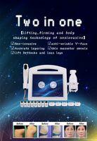 Профессиональный 4D Hifu Liposonic 2 IN1 Удаление морщин Избавление от морщин Изменение подъема лица / тело для похудения с 8 картриджами и 20000 съемки Beauty Machine