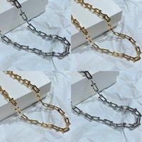 Collar gótico Vintage Link Link Chokers Collares para Mujeres Punk Jewelry Femme Gargantilla Collar Oro Cadena Collar Goth Bijoux 2020 85 R2