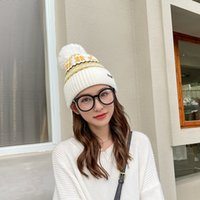 2021 autumn winter new hat women's fashion Pullover hat scarf snowflake knitted snowflake hairball hat Bib
