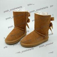 أحذية الثلوج الاطفال لفصل الشتاء جلد اصلي للأحذية أحذية بوتاس دي نيف الأحذية chaussures