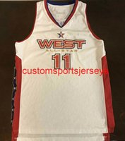 Mens Women Youth 2005 West All Star Yao Ming Jersey Basketball Jersey Embroidery add any name number