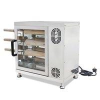 Ticari Elektrikli Baca Rulo Kek Fırın Yüksek Kalite Paslanmaz Çelik Macar Ekmek Rulo Makinesi 220 V 110 V