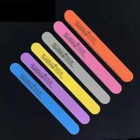 file per unghie personalizzate spugna file colore chiodi a strisce smalto strisce di logo personalizzazione e all'ingrosso