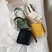 Fashion Brands Women Shoulder Bags Digner Solid Color Armpit Bags for Women 2021 Brand Underarm Bag Handbag Female Purs ToteKTT5