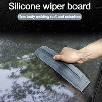 1 unids ABS ABRUE Coche Silicona Agua Limpiador Limpiador Scaper Blade Squeebee Coche Vehículo Estándar de parabrisas Lavado de vidrio Lavado Limpio