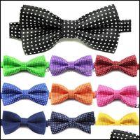 Apparel Supplies Home & Gardenkid Tie Pet Dot Printed Bowties Dog Cat Wave Point Neckwear Children Bow Ties Wedding Party Fashion Aessories