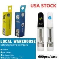 USA Zasoby Cookies Vape Cartridge Premium Cartridges Pusty Atomizers Oil 510 Vaporyzer Pen 0.8ml 1.0ml Ceramiczne Cewka ECIGARette LIMITED EDITION Packaging