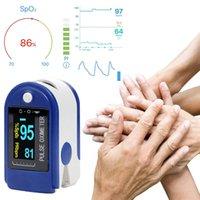 Fingertip نبض مقياس التأكسج SPO2 الدم