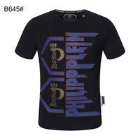 2021 Plain Men T Shirts Cotton Women Clothes Funny Short Sleeve O Neck Tees Printing Phillip T-Shirts PP top36
