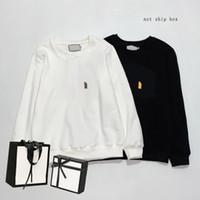 21SS 남성 여성 후드 니스 패션 긴 소매 탑스 남성의 가로복 편지 패턴 인쇄 여름 도착 여성의 스웨터 인쇄