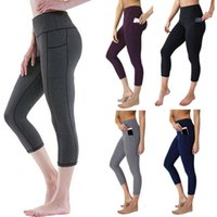 Women's Leggings Ladies Elastic Pant Fitness Womens Soft Stretch Cotton High Waisted Long Workout