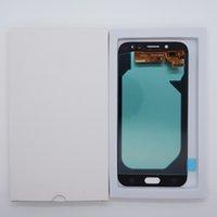 Samsung Galaxy J7 Pro J730 OLED 스크린 터치 패널 프레임없이 Digitizer 교체 용 LCD 디스플레이