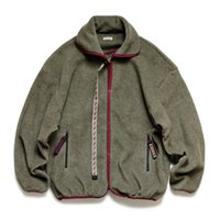 2 couleurs Hommes Designer Vestes 21AAw Kapital Molleton Broderie Zipper Fashion High Street Casual Outwear