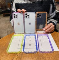 Simple and transparent creative TPU phone cases for iphone13 pro max 12 min 11 X XR XS 7 8 plus case cover