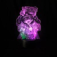 Galaxy Projector Night Light LED Anime Picture Lamp 3D Toilet-bound Hanako-kun Nightlight Atmosphere Room Decor Kids Friend Gift