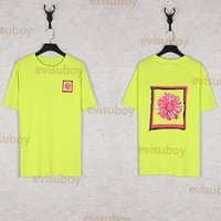 Sommer Herren Designer Hohe Qualität T-shirt Mode Womens Pattern Druck Kurzarm Paare Unisex Tshirts Schwarz Grün Weiß Größe S-XL
