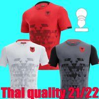 أعلى جودة 21 22 ألبانيا الصفحة الرئيسية لكرة القدم جيرسي 2021 2022 Qose Balaj إسماعلي المنتخب الوطني قميص كرة القدم الثالث