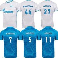 21 22 FC Zenit St. Petersburg Fussball Trikot 2021 2022 Malcom Rigoni Dzyuba Azmoun Lovren Football Hemd