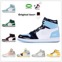[Kutu ile]Air Jordan 1 4 Jordans x Off-White shoes Yüksek Kalite Yeni Varış Jumpman 1 1 S Yüksek Siyah Ayak Erkek Kadın Basketbol Ayakkabı Obsidiyen Daha Renkler Sneakers Ayakkabı