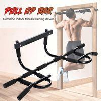Yatay Barlar Kapı Çelik 120kg Pull-up Bar Ev Gym Egzersiz Chin-Up Egzersiz Üst Vücut Fitness Eğitim Spor Ekipmanları1