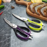 Kitchen Scissors Heavy Duty Curved Multifunctional Chicken Bone Scissors for Vegetable Fishing Cooking Kitchen Supplies