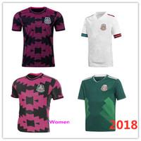 21 22 Meksika Futbol Formaları 2018World Kupası Chicharito Lozano Dos Santos Moreno Alvarez Guardado 2021/22 Erkek ve Kadın Futbol Gömlek