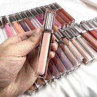 Customized Wet Shiny Clear Lip Gloss Private label Moisturizing Lipgloss Shimmer Glitter Makeup Liquid Lipstick