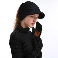 Weihnachtsgeschenke CC Strick-Touch-Screen-Handschuh-kapazitiver Frauen-Winter-warm Wollhandschuhe rutschfeste gestrickte Telefinger im Freien komfortabel 2021