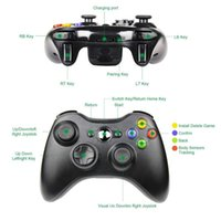Game Controllers & Joysticks 2.4G Wireless Gamepad For X Box 360 Console Controller Receiver Controle Joystick Handle Compatible With Multip