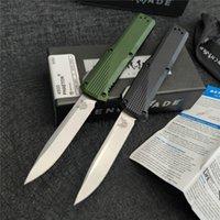"""Benchmade 4600 Coltello automatico 3.45 """"CPM-S30V Blade Anodizzato 6061-T6 Manico in alluminio Anodizzato Campeggio all'aperto Survival Survival Autodifesa EDC Tattica Coltello"""