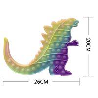 Goslar Monster Party Fidget Pop Toy Tamaño Big Tamaño Rainbow Push Burbuja FingerIt