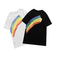 Femmes Mode T-shirt Casual Letter Print Tees Sport Style Été Summer Summer Personnalité T-shirts classiques 2021