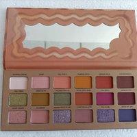 2021sweet maquillage de pêche maquillage de pêche ombre au chocolat palette or palette de paupières bébé Bar blanc 18 couleurs pêches cosmétiques