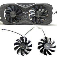 2 pcs 95mm GAA8S2U 4PIN GTX 1070TI / 1080TI GPU VGA Filer Fan para Zotac GeForce GTX1070TI GTX1080TI Amp Core Video Placas Fãs