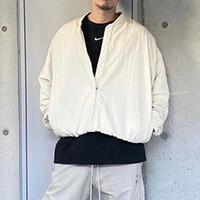 하나님의 공기 두려움 워밍업 재킷 새로운 안개 브랜드 collab 베이지 색 농구 자켓 남자 캐주얼 스포츠 힙합 streetwear mg210011