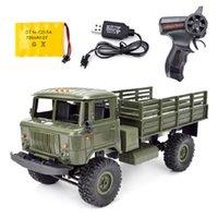 WPL B-24 GAZ-66 1 16 Remote Control Military Truck 4 Wheel Drive Off-Road B24 WPL GAZ RC Car Model Remote Control Climbing Car 210915