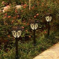 Solar Lamps LED Outdoor Light Waterproof Patio Lawn Lamp For Home Garden Villa Decoration Grassland Energy Lighting Night