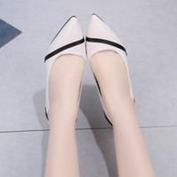Dress Shoes Black Beige Pointed Toe High Heels Women Office Pu Leather Stiletto Concise Mixed Colors Shallow Pumps 2021