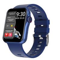 2021 nouveau D06 Smart Watch 1,6 pouce Bouton à écran complet Knob Fitness Tracker HD Bluetooth Appeler Multi Sports Mode pour hommes Femmes
