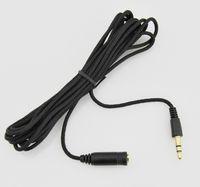 Nuevo Cable de extensión de 3m 10 pies de 3,5 mm hembra a masculina F / M Auricular Estéreo Audio Audio Cable Adaptador de cable para PC de teléfono MP3