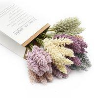 6 Adet / Paket Köpük Lavanta Vazolar Ev Dekorasyon Aksesuarları için Ucuz Yapay Bitkiler Ev Ürünleri Düğün Karalama Defteri