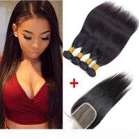 Seta Brasiliana Virgin Hair Bundle Bundle Offerte dritto a buon mercato Remy Human Hair Capelli Tessuto Bundles Peruviano indiano Capelli Malesian Bundles Allegati all'ingrosso Prezzo