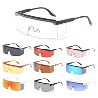 Outdoor Eyewear One-piece Mtb Road Bicycle Glasses Sports Unisex Sunglasses Cycling Protection Goggles Riding Windproof Large-frame