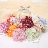 Simulation Hortensie Kopf Multi-Color DIY Handgemachte Künstliche Hortensie Hochzeitsfeier Blume Wand Zeile Arches Decor FWB5613