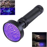 손전등 토치 고품질 UV 빛 100LED 51LED 395nm LED 줌 토치 램프 안전 자외선 탐지 Scorpion1