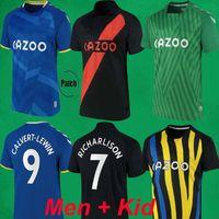 21 22 22 Футбол Футбол Ричарлисон Джеймс Аллан Родригес Calvert Lewin Футбольные футболки 2021 2022 Мужские детские наборы спортивные формы